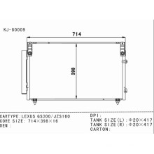 Condenseur de climatisation automatique pour Lexus GS300 / Jzs160