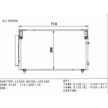 Auto Air Conditioning Condenser for Lexus GS300/Jzs160