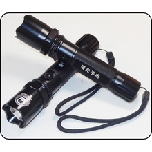 Rechargeable Police Flashlight with Car Charger