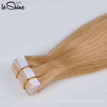 Wholesale 100% Virgin Remy Human Tape in Human Hair Extention