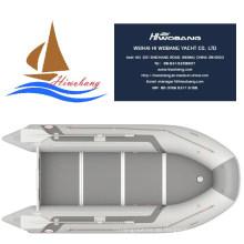 Licht grau Ruderboot Schlauchboot mit Optional Boden