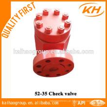 Válvula de retenção API 6A Wellhead China