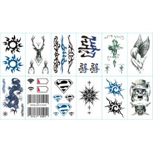 Fashion Cartoon Tattoo Stickers for Parties