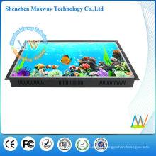 Signage digital do lcd do quadro aberto de 26 polegadas para anunciar o monitor