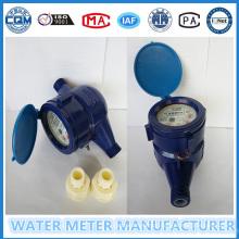 Medidor de fluxo plástico da água da alta qualidade na marca de Gaoxiang