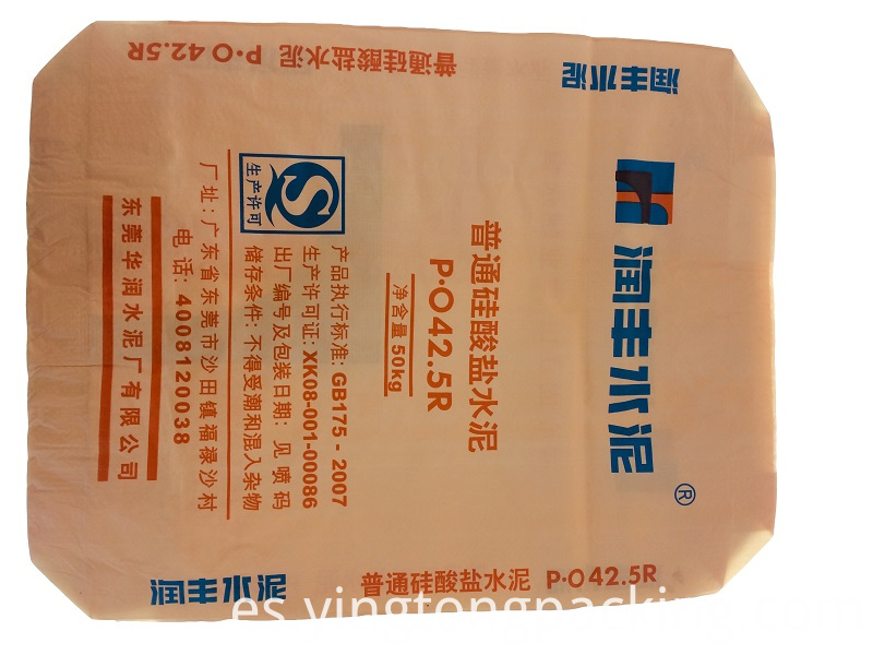 Polypropylene Valve Cement Bag