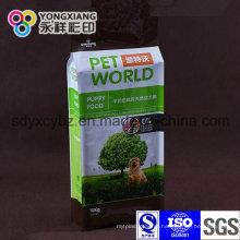 Alimentação animal Gusset lateral Embalagem Food Grade Bag