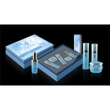 Starre Kosmetikbox mit Kunststoffschale / Kosmetikbox mit EVA-Einsatz