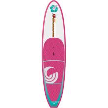 Women′s aufblasbare Surfbrett im Wasser für Unterhaltung