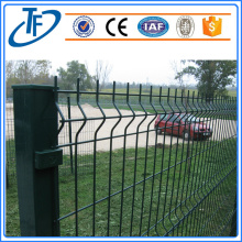 Square post galvanized welded wire mesh fence