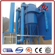 Revolving reverse blow asphalt plant bag filter dust collector