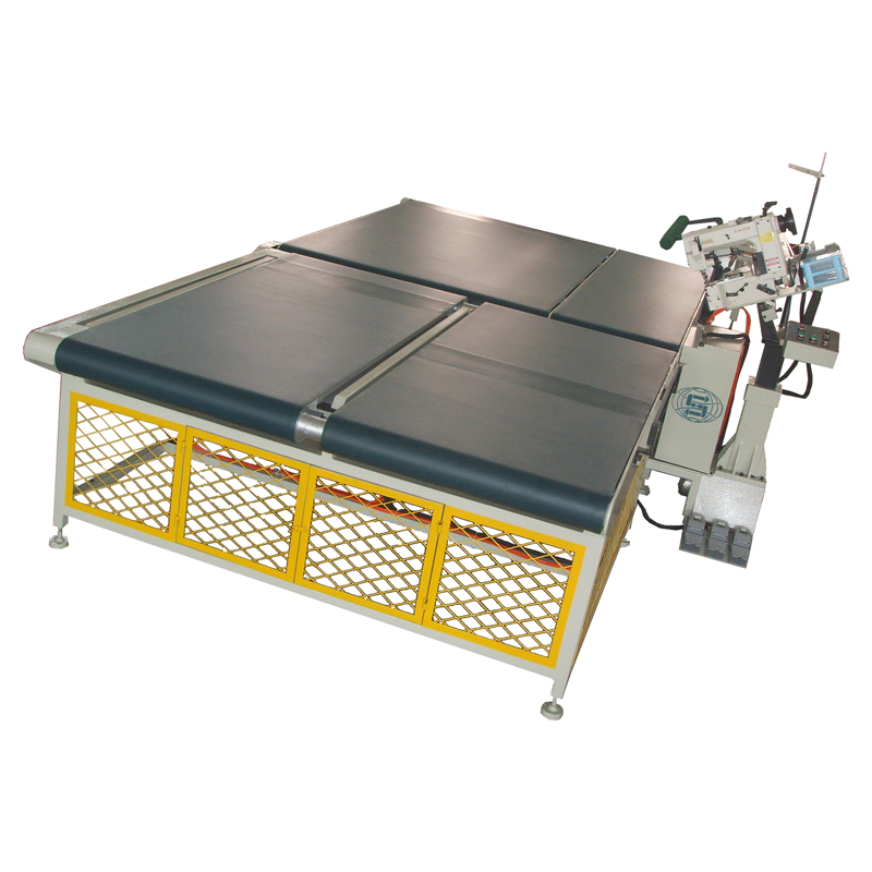 High efficiency automatic mattress bordering machine