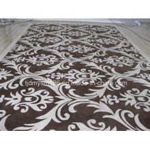 Flowers and Plants Pattern Wool Carpet