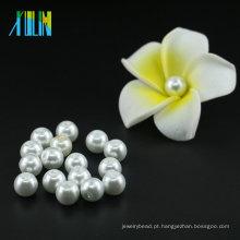 Venda mais quente por atacado 3mm a 16mm UA01 XULIN Pure White cor Rodada De Vidro Pérola Beads