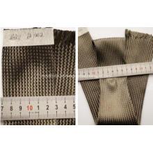 Luva de cabo trançada têxtil em fibra de carbono