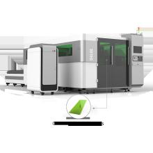Máquina de corte por láser de fibra óptica para láminas de metal
