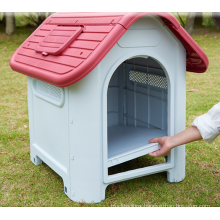 hot custom color cage dog outdoor pet house kennel cage metal pet house dog cage