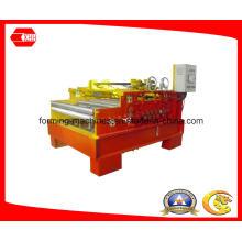 Machine d'aplatissement en acier avec dispositif de coupe et de coupe