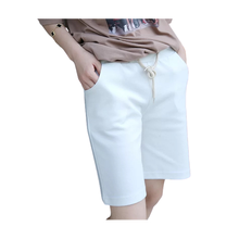Womens Custom Summer Slim Fit Cotton Short Pants