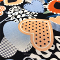 Customized New Arrival Multicolor Smooth Rayon Fabric