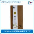 Sencai brown Kraft tea paper packaging box