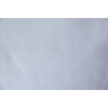 100% Polyester Bed Sheet ανάγλυφο λευκαντικό ύφασμα