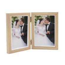 wholesale custom high quality solid wood photo frame hand-made table picture frame wedding photo frame for home decoration