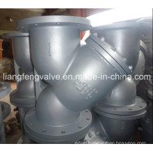ASME Carbon Steel Y-Strainer of Flange End