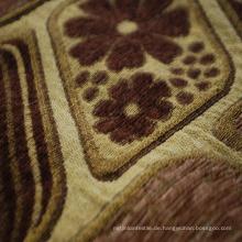 Polyester-Garn-Färbungs-Chenille-Gewebe für Sofa