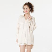 Linen cotton shirt long sleeve linen shirts