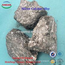 Terrón de la aleación del silicio del calcio de la aleación de Ca Si Ferro