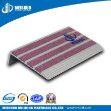 Raias de alumínio anti deslizamento com inserção de carborundum