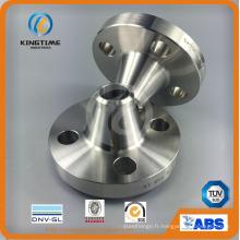 Bride forgée de l'acier inoxydable F316 / 316L Wn RF forgé à l'ASME B16.5 (KT0337)