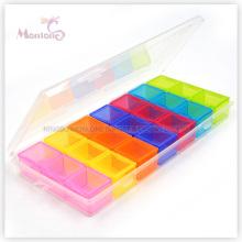 21 Grids 3 Week Plastic Pill Box