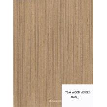 artificial teak wood veneer
