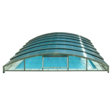 Pvc Automated Pool Roof Swimming Pool Cover