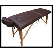 2 Sections Wooden Massage Table (MT-5) Acupuncture