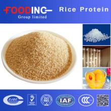 100% natürliches braunes Reis-Protein-Pulver mit koscherem Zertifikat