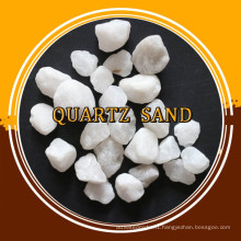 Manufacturer Supply grade Silica Quartz Sand with for refractory raw material