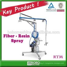 Machine à pulvériser en résine à fibres industrielles haute performance
