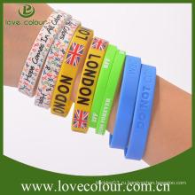 Фирменное наименование: Цветной перерабатываемый силиконовый браслет