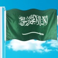 Sublimation Saudi-Arabien Flagge 3x5