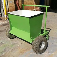 Ao Lai machinery production four wheel lawn sand filling machine hand push type sand Infill machine for artificial turf