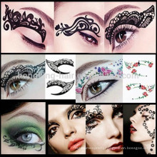 China supplier customize eye tattoo sticker eye shadow sticker eye decoration sticker