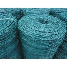 Barbed Razpr Wire Mesh Fence (PVC)