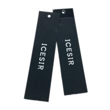 Luxury Custom Square Printed Garment Shoes Paper Hang Tag With Elastic Loop