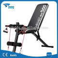 2015 NEW Multi Adjustable Weight Bench with Resistance band and rope for sale