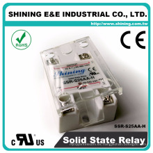 SSR-S25AA-H Brillante 25A AC a AC UL Salida de alta potencia 240V Relé