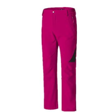 Pantaloni da sci donna isolati Softshell foderato in pile antivento