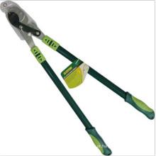 OEM de jardinagem do aperto do punho do tubo do aço do batente de Lopper das ferramentas da mão